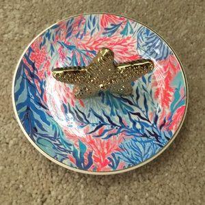 Lilly Pulitzer Starfish Ring Holder